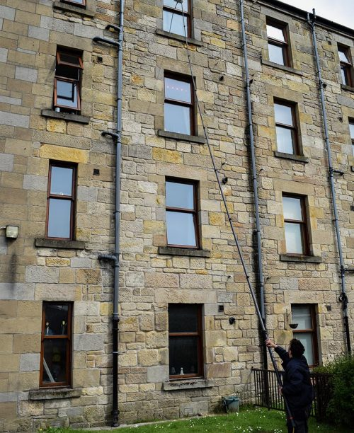 Aperture Services High Reach Window Cleaning